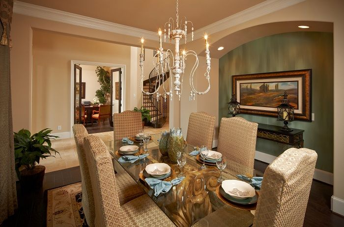 Arched Niche For Buffet Elegant Dining Fine Table Rooms