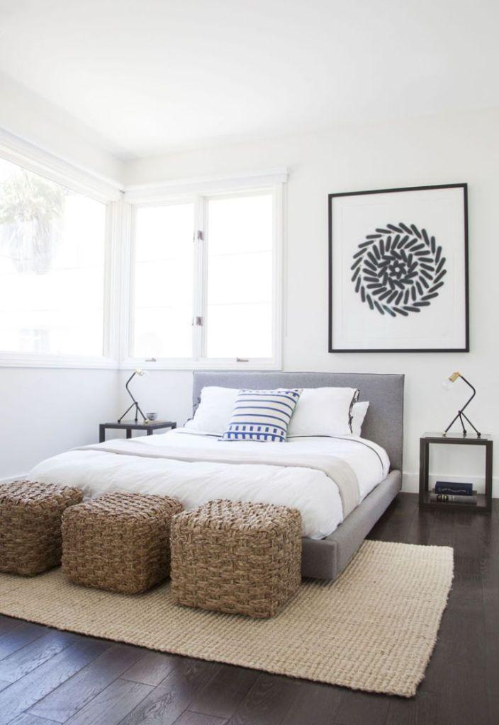 3 einzigartige Möglichkeiten, ein Doppelbett in einem kleinen - dekoration für badezimmer