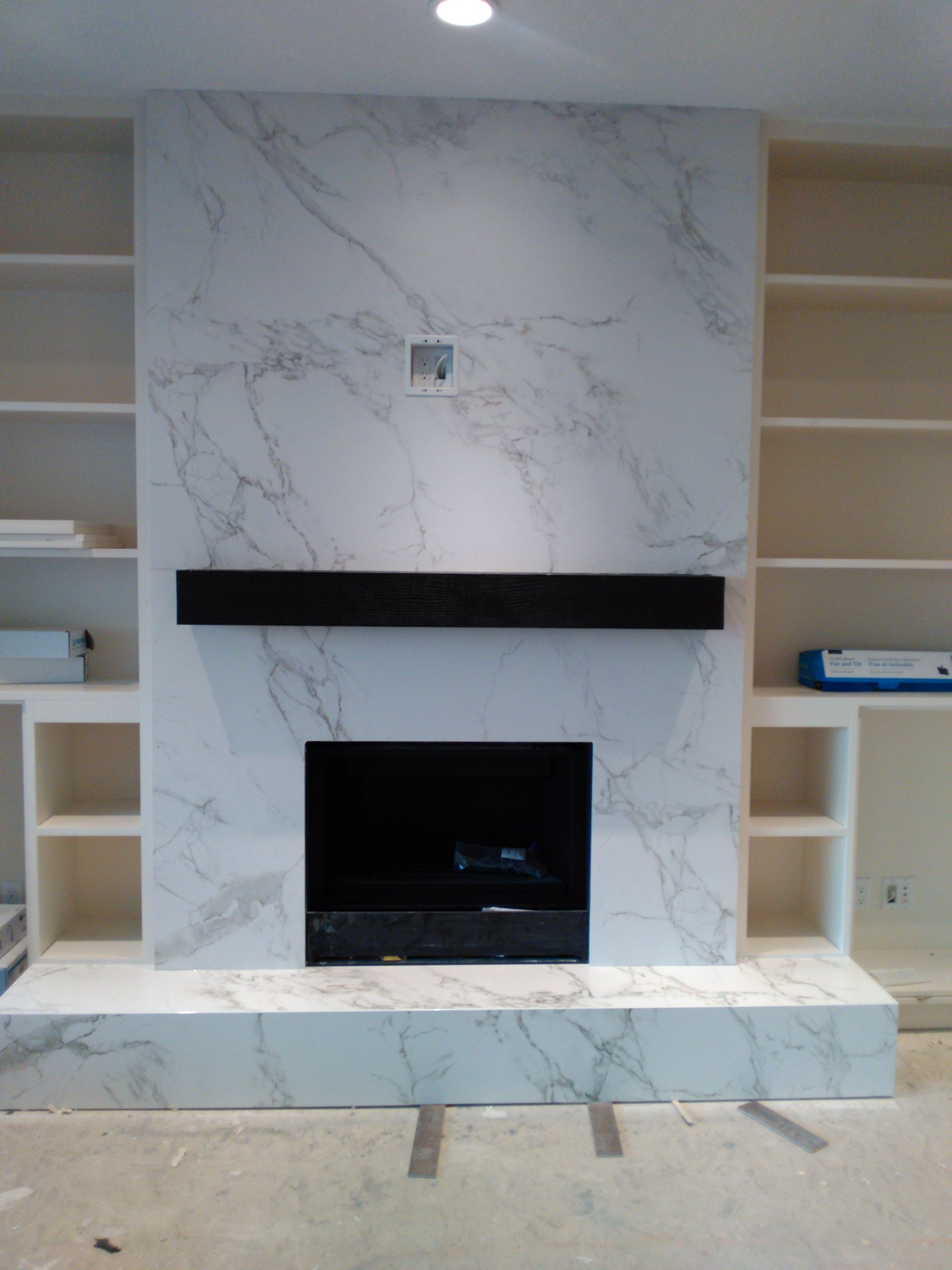 Dekton Fireplace Cladding We Put In This Passed Week