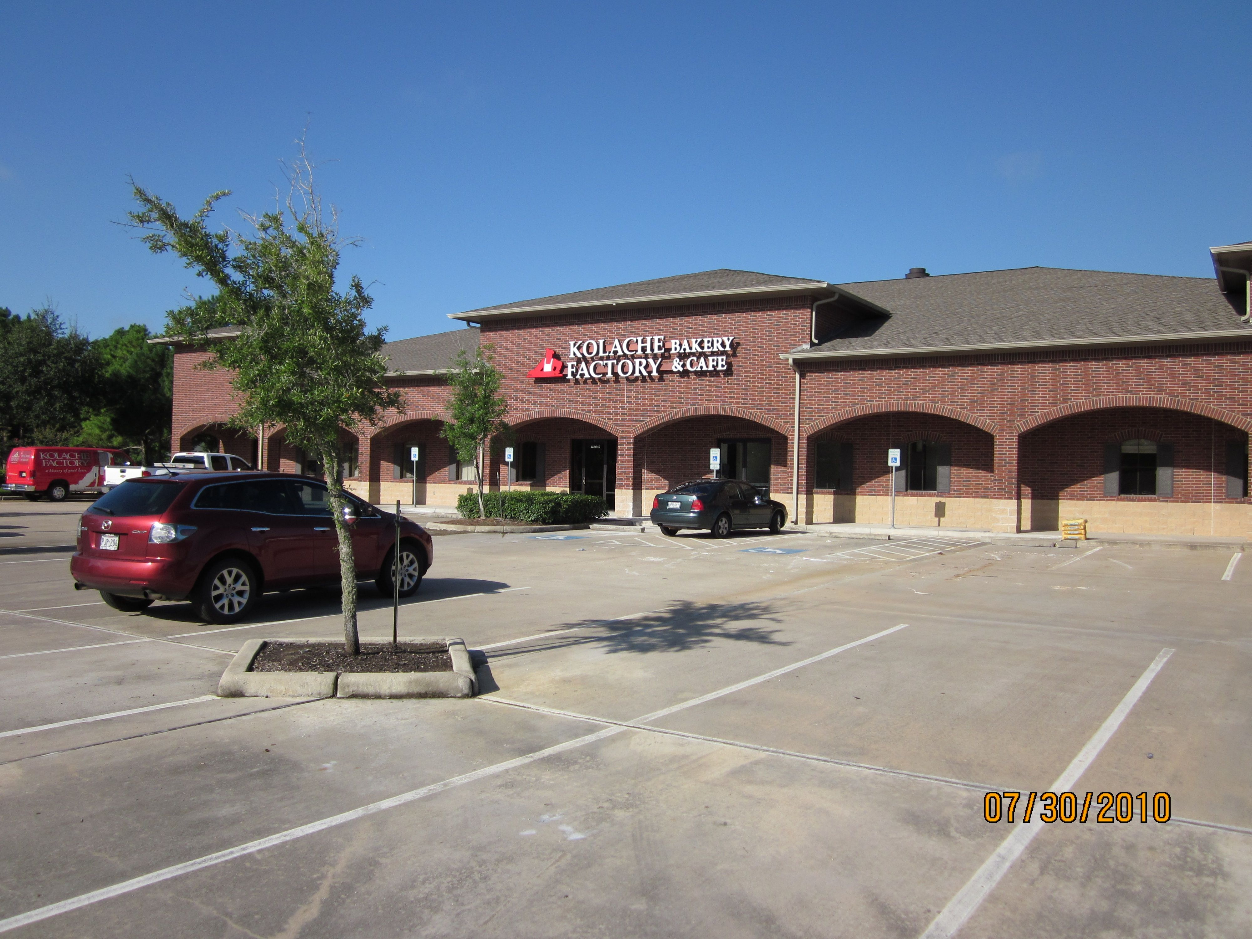 Kolache Factory HQ                   23240 Westheimer Pkwy Katy, TX 77494