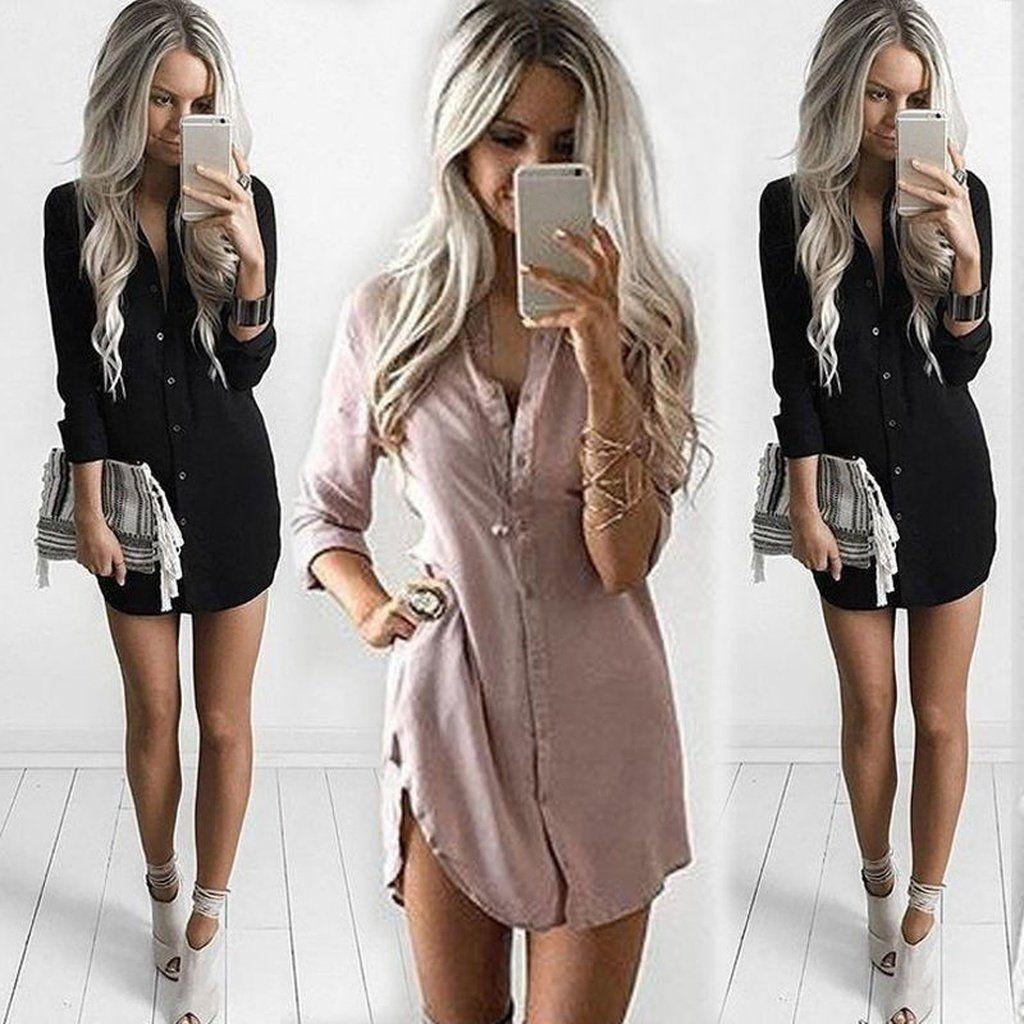 a77ea3db4 Plus Size S-3xl Womens Blouses Fashion Autumn 2017 White Long Sleeve ...