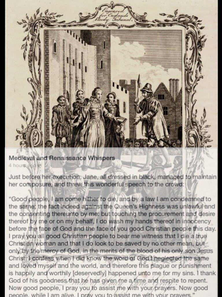 Lady Jane Grey | Lady jane grey, Tudor history, History of ...