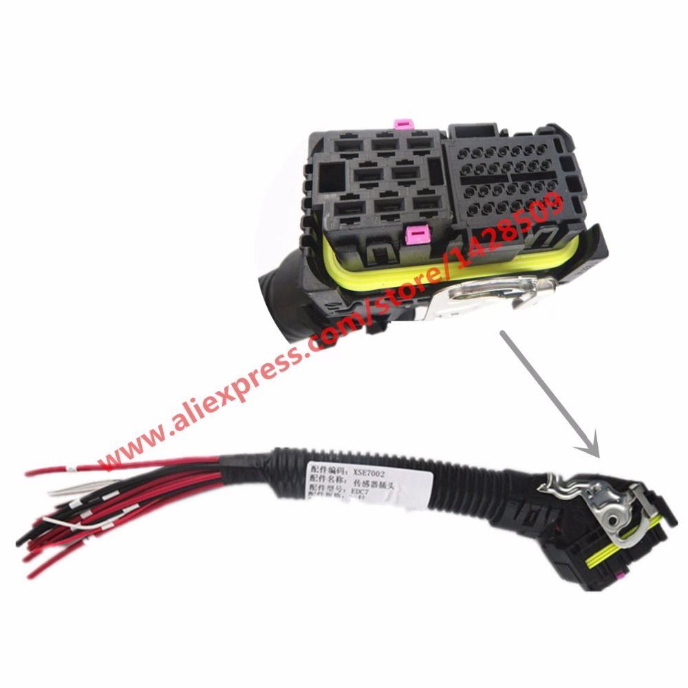36 Pin/Way EDC7 ECU Connector Automotive Wiring Harness
