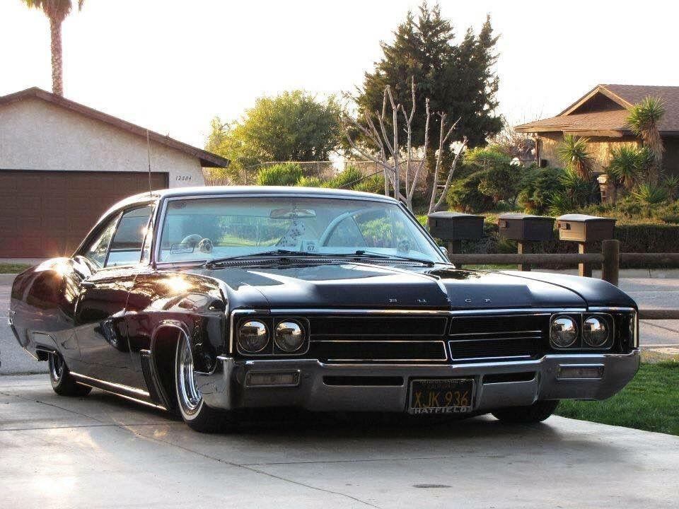 Slammed 67 Buick Wildcat All The Way Down K Buick Wildcat