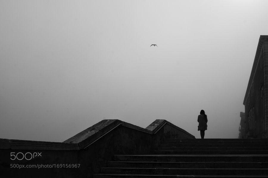 VENICE AND THE FOG - ON SALE by IlariaC_photography