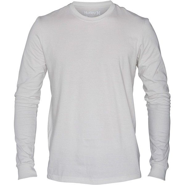 Hurley Staple Premium Long Sleeve Shirt ❤ liked on Polyvore featuring tops, men, long sleeve oversized top, extra long sleeve shirts, hurley, hurley shirts and oversized long sleeve shirt