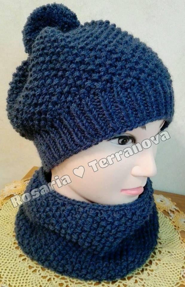 Le passioni di Sara  Come realizzare un cappello da bambino a e girocol. 8c1c704df02a
