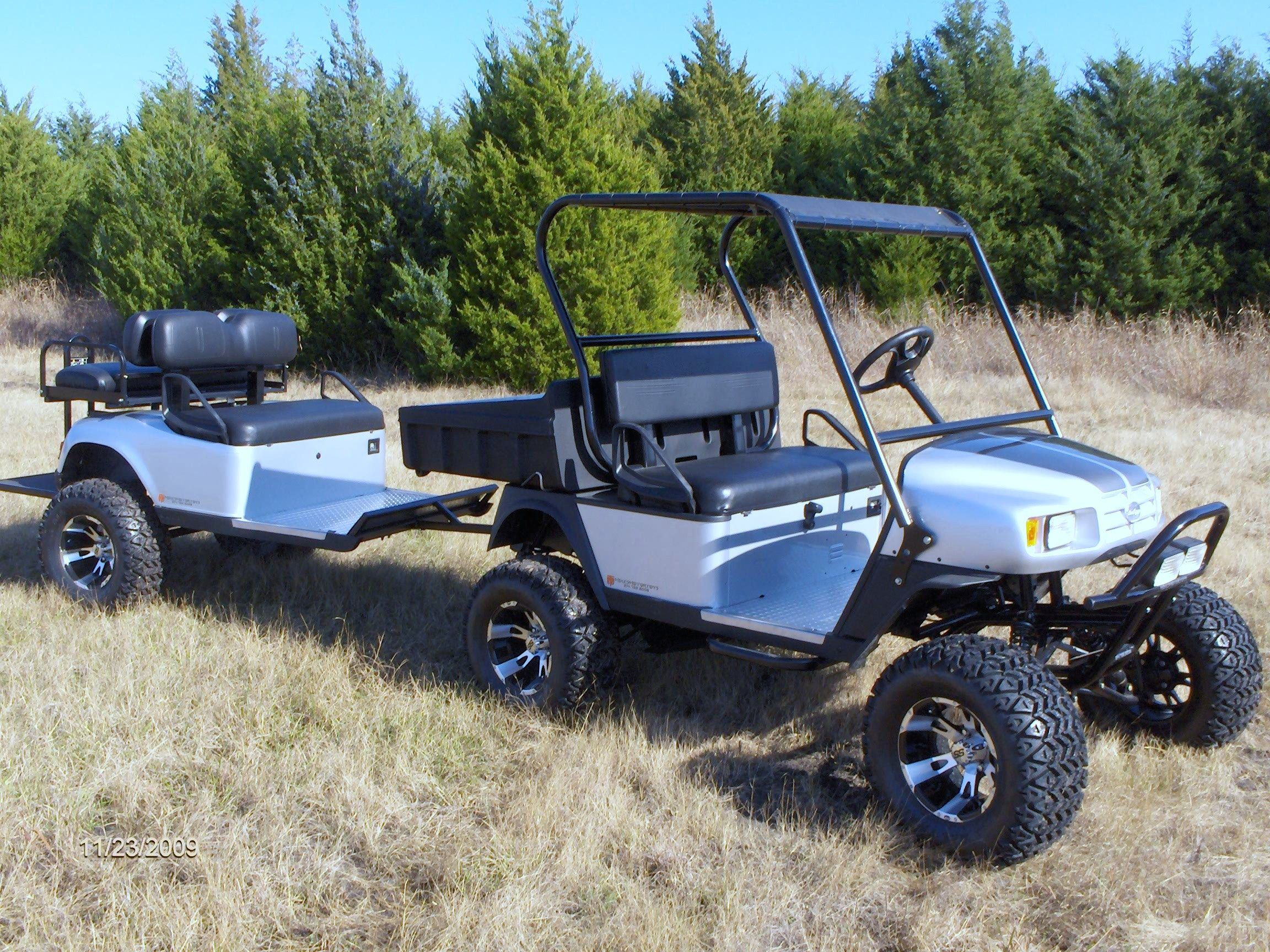 St with trailer golf carts pinterest golf carts for Golf cart plans
