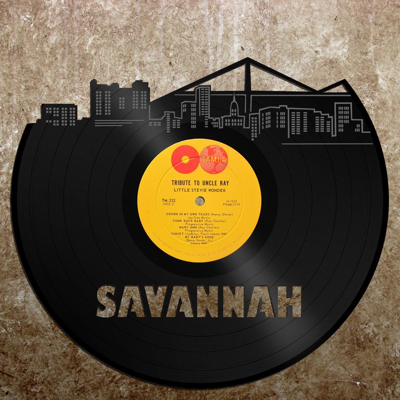 Savannah GA Skyline, Georgia Gift, Home Decor, Wall Art ...