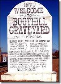Boot Hill Cemetery Tombstone Az Tombstone Arizona Tombstone