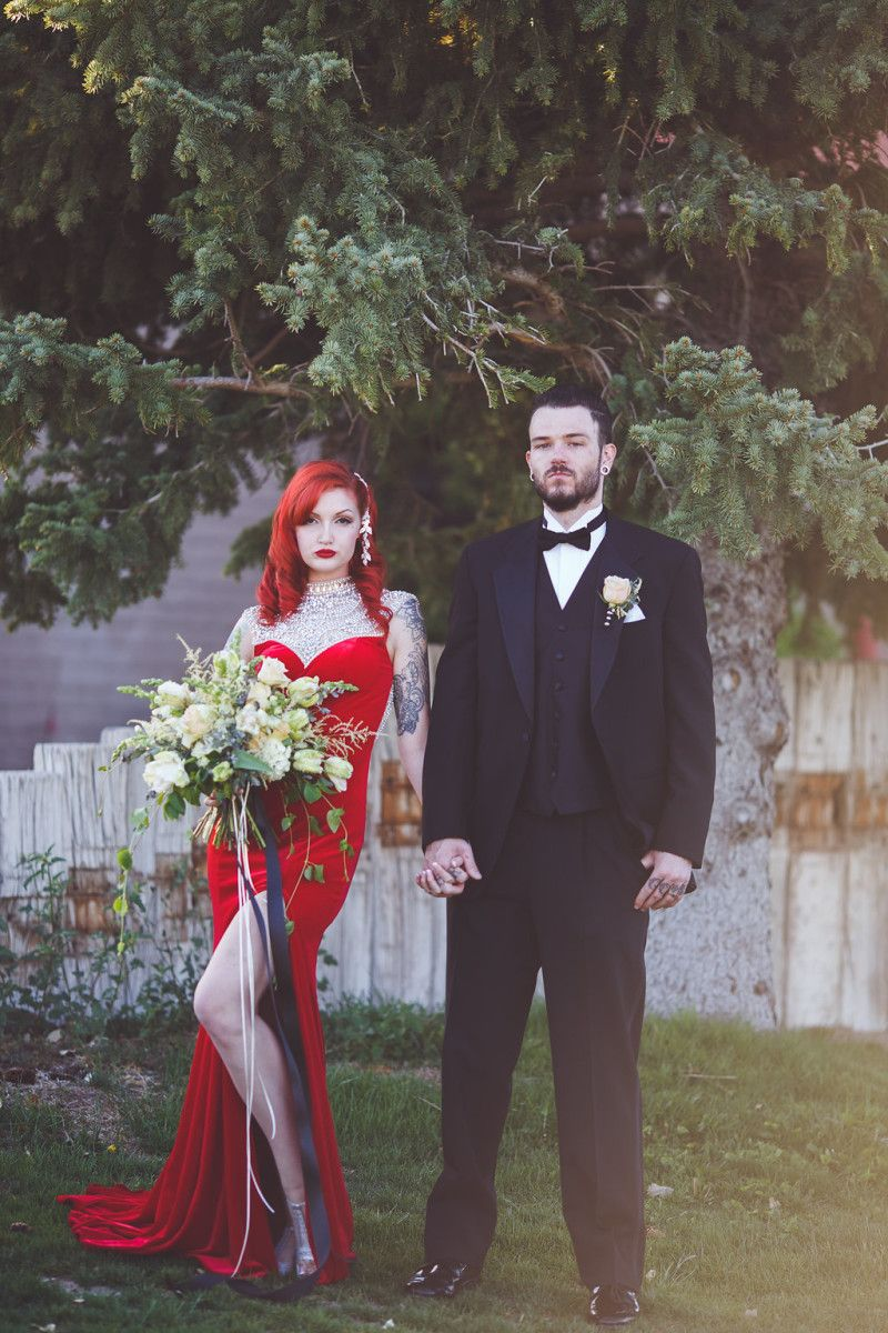 This Jessica Rabbit bridal look made our jaws drop   Jessica rabbit ...