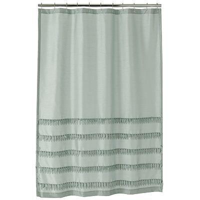 37 West Flutter Shower Curtain Contemporary Shower Curtains