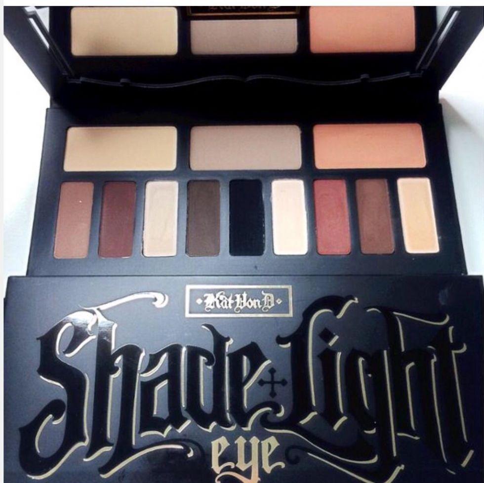 kvd shade and light eye palette - Google Search | Kat Von D Beauty ...