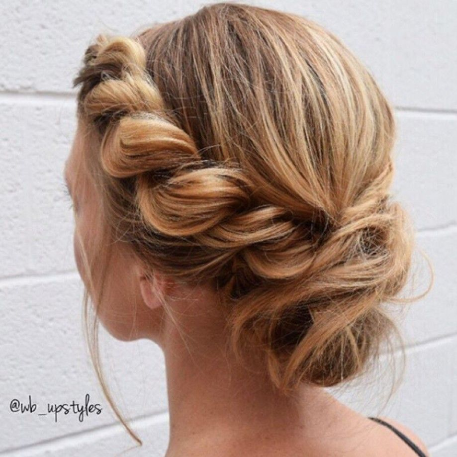 25 Easy To Do Curly Updos For Any Occasion Junior Bridesmaid Hair Curly Hair Styles Naturally Curly Hair Styles