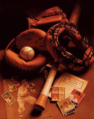 Photo of 'Baseball' Prints – Michael Harrison | AllPosters.com