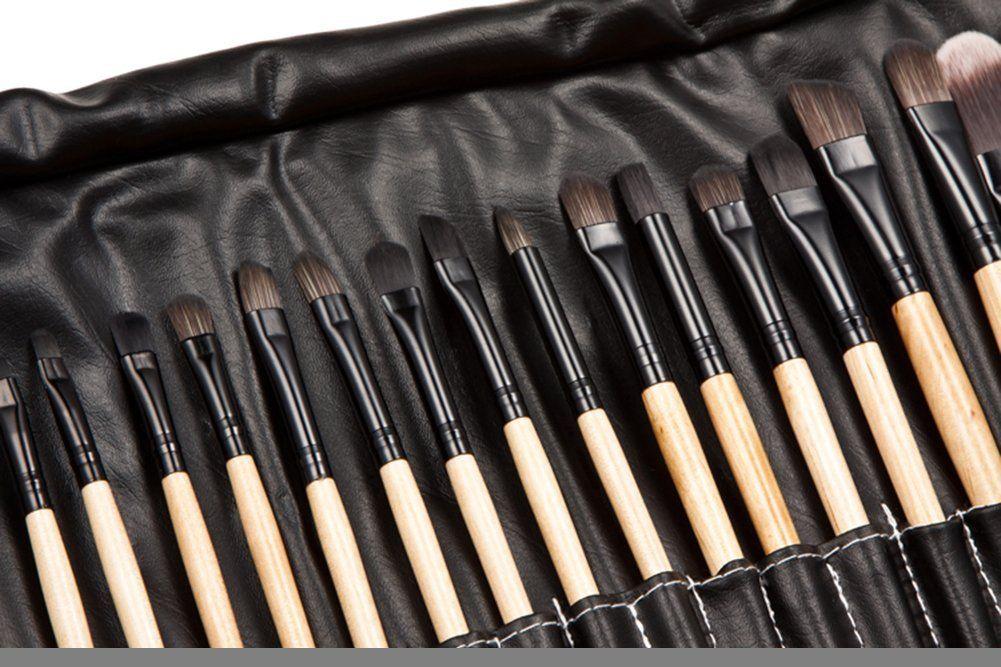 YSM Makeup Brush Sets Professional 32pcs Make Up Bag Brush