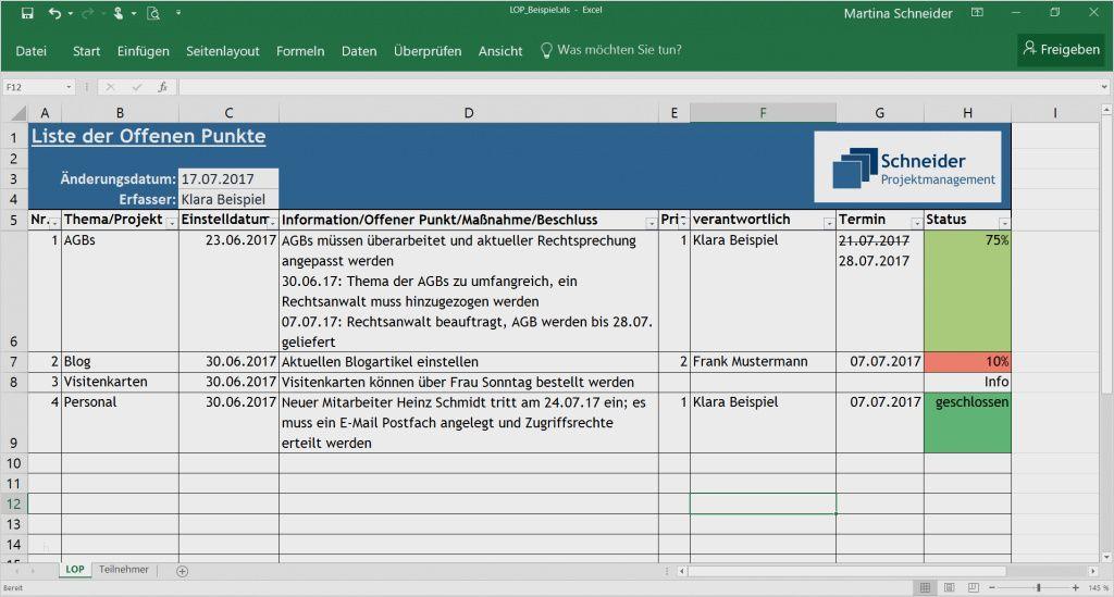 Offene Punkte Liste Excel Vorlage 29 Einzigartig Praktisch Sie Konnen Einstellen Fur Ihre Ers In 2020 Excel Vorlage Seitenlayout Vorlagen