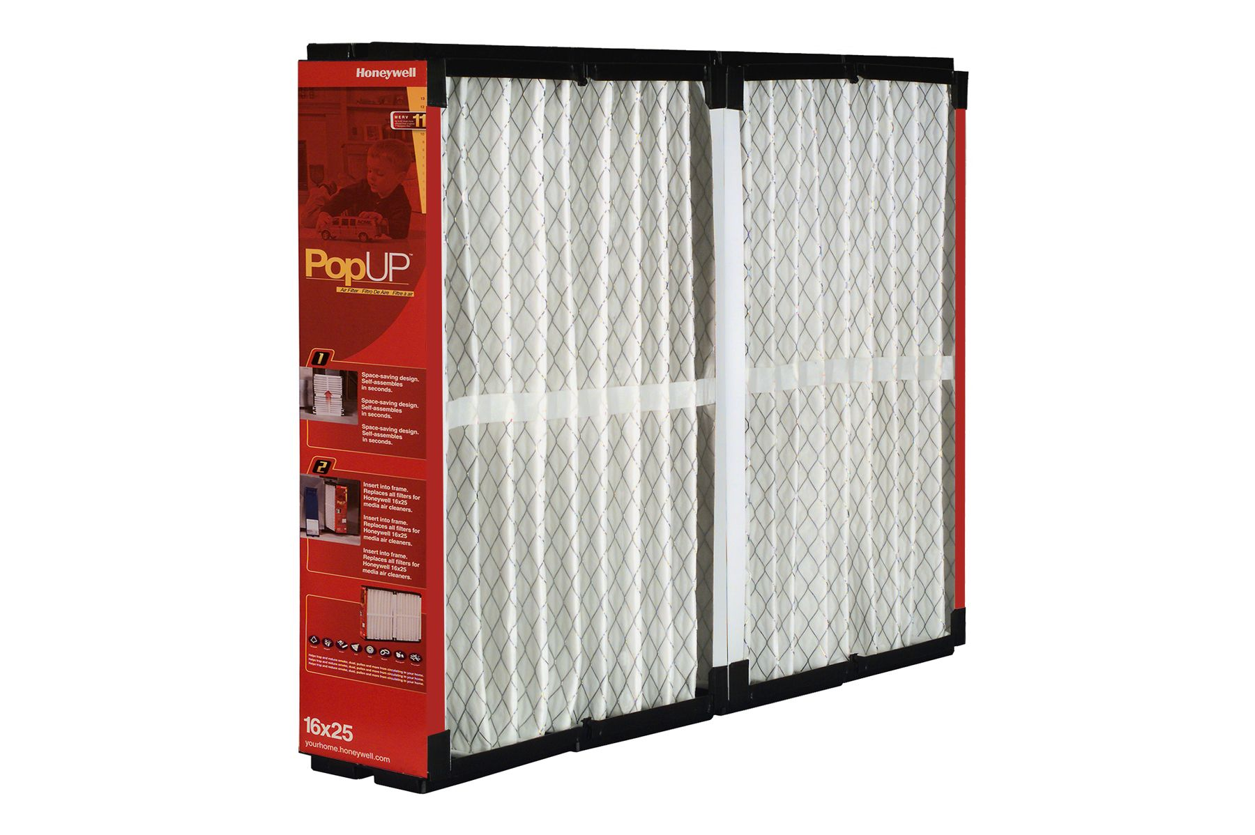 Honeywell POPUP air filters. Air filter, Filters, Pop up