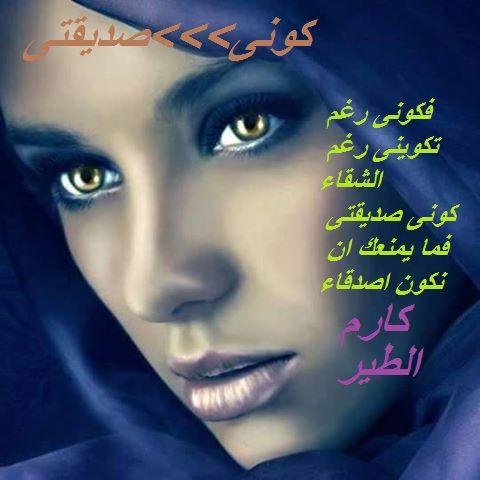 كارم الطير Google Poems Signs Poster