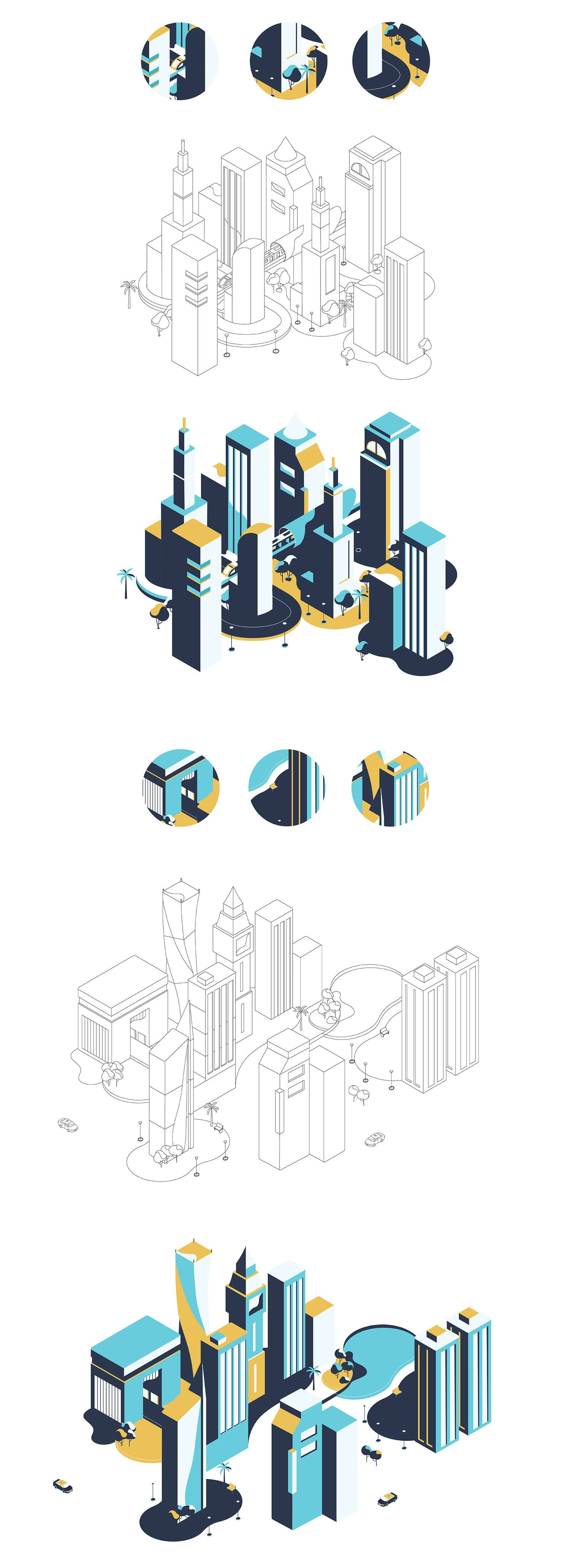 Smart Dubai on Behance