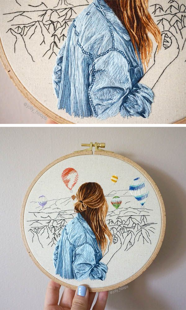 Amazing fashion embroidery scenes – Jolly Hoops Interview – Pumora – all about hand embroidery – Cross-stitch