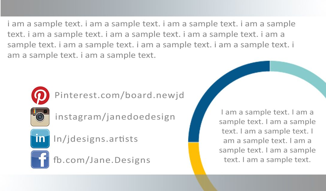 Aye Design  Business Card  Visiting Card  Jane Doe  Graphic