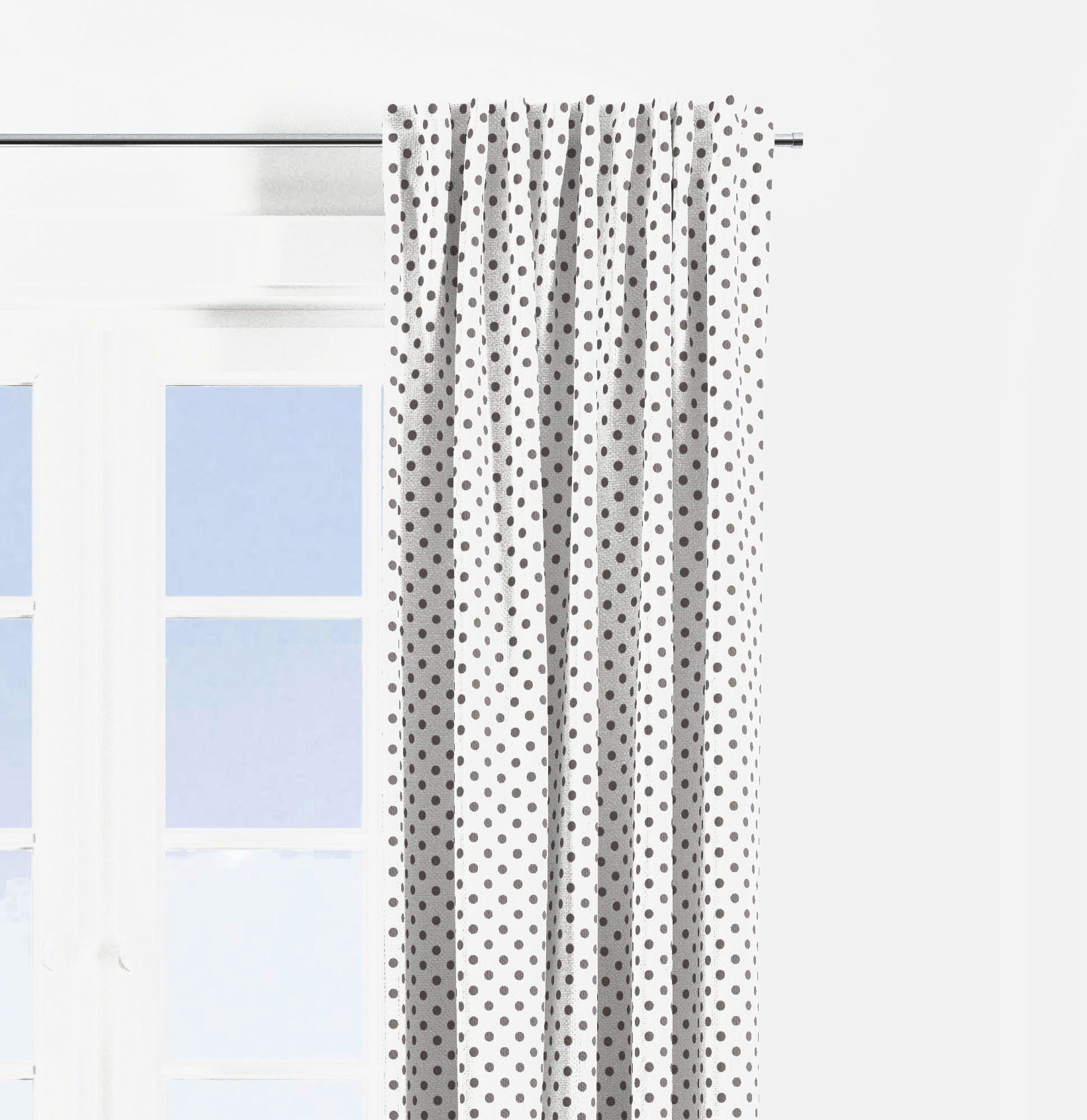 Photo of Bacati – Dots Stripes Gray/Yellow Window Remedies Curtain Panel/Valance Offered Individually (A number of Prints to select from) – Pin Dots Mild Print