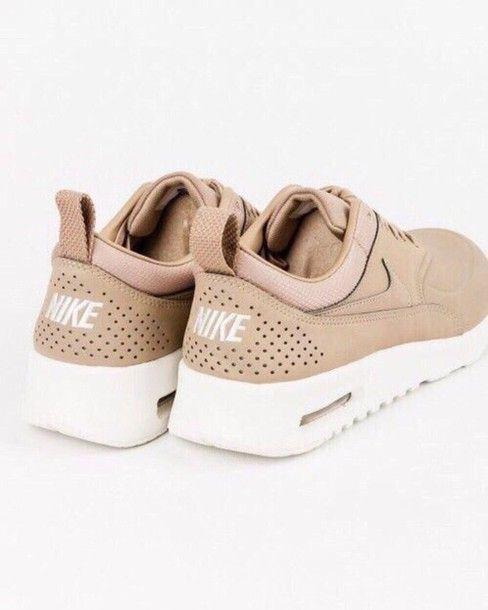 Shoes, 130€ at shop-majestic.com - Wheretoget. Beige Nike ...