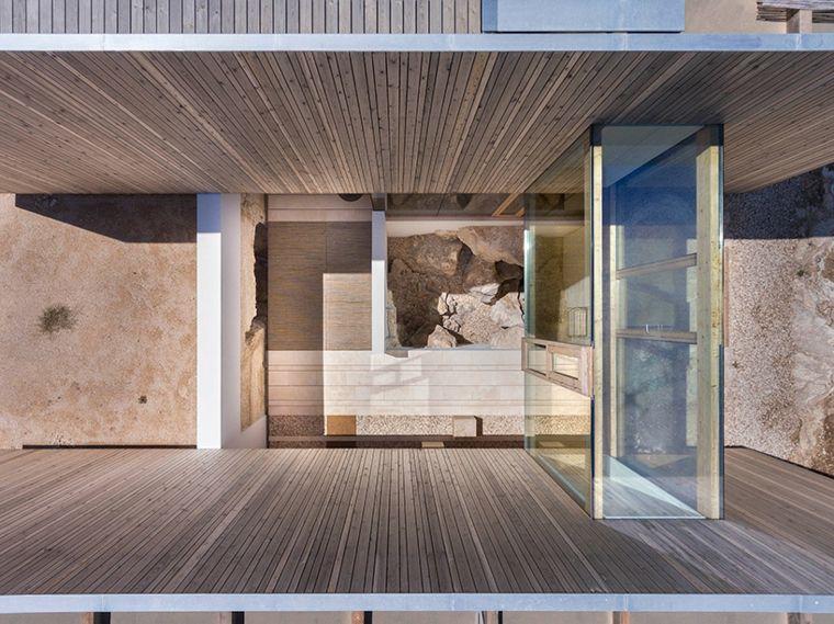 Maison terrain en pente  maison Maria Castello sur lu0027île de - maison sur terrain en pente