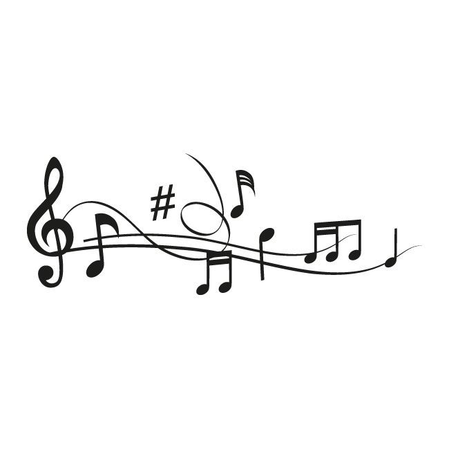 Vinilos Decorativos Pentagrama Musical Decorativos Musical Pentagrama Vinilos Tatouage Musique Dessin Musique Idees De Tatouages