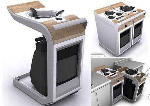 Magnífico Muebles De Cocina Casa Móvil Componente - Ideas de ...