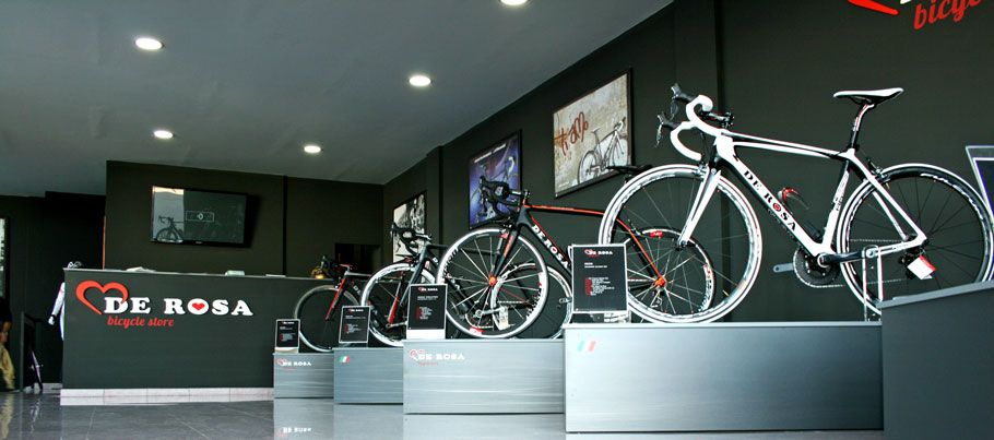 """Tienda de bicicletas """"De Rosa"""" www.ikaroa.es"""