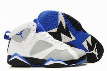 Buy Discount Women's Nike Air Jordan 7 Shoes White/Grey/Black/Blue from  Reliable Discount Women's Nike Air Jordan 7 Shoes White/Grey/Black/Blue  suppliers.
