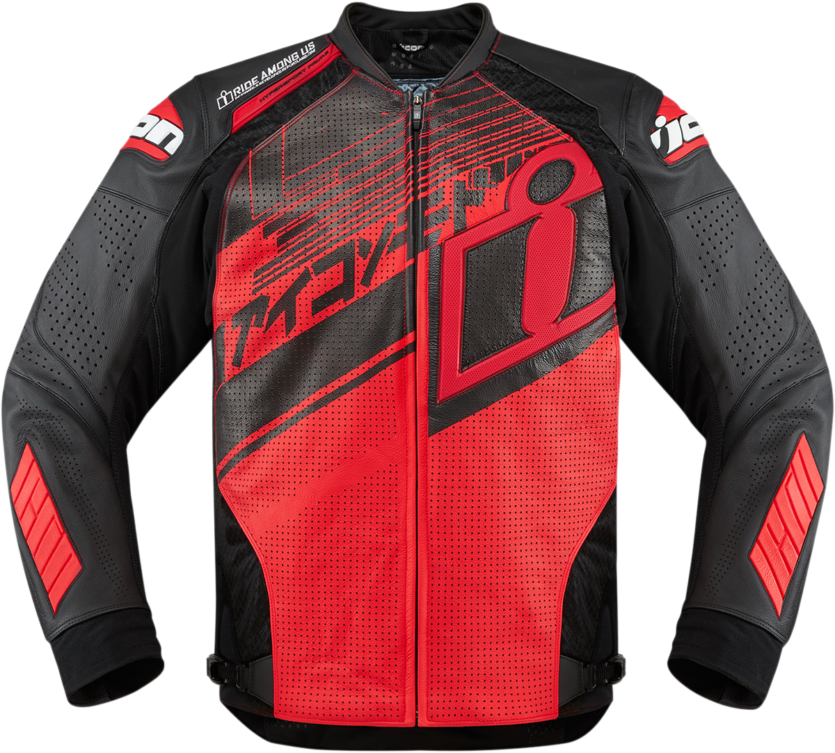Hypersport Prime Hero Jacket Red Products Ride Icon