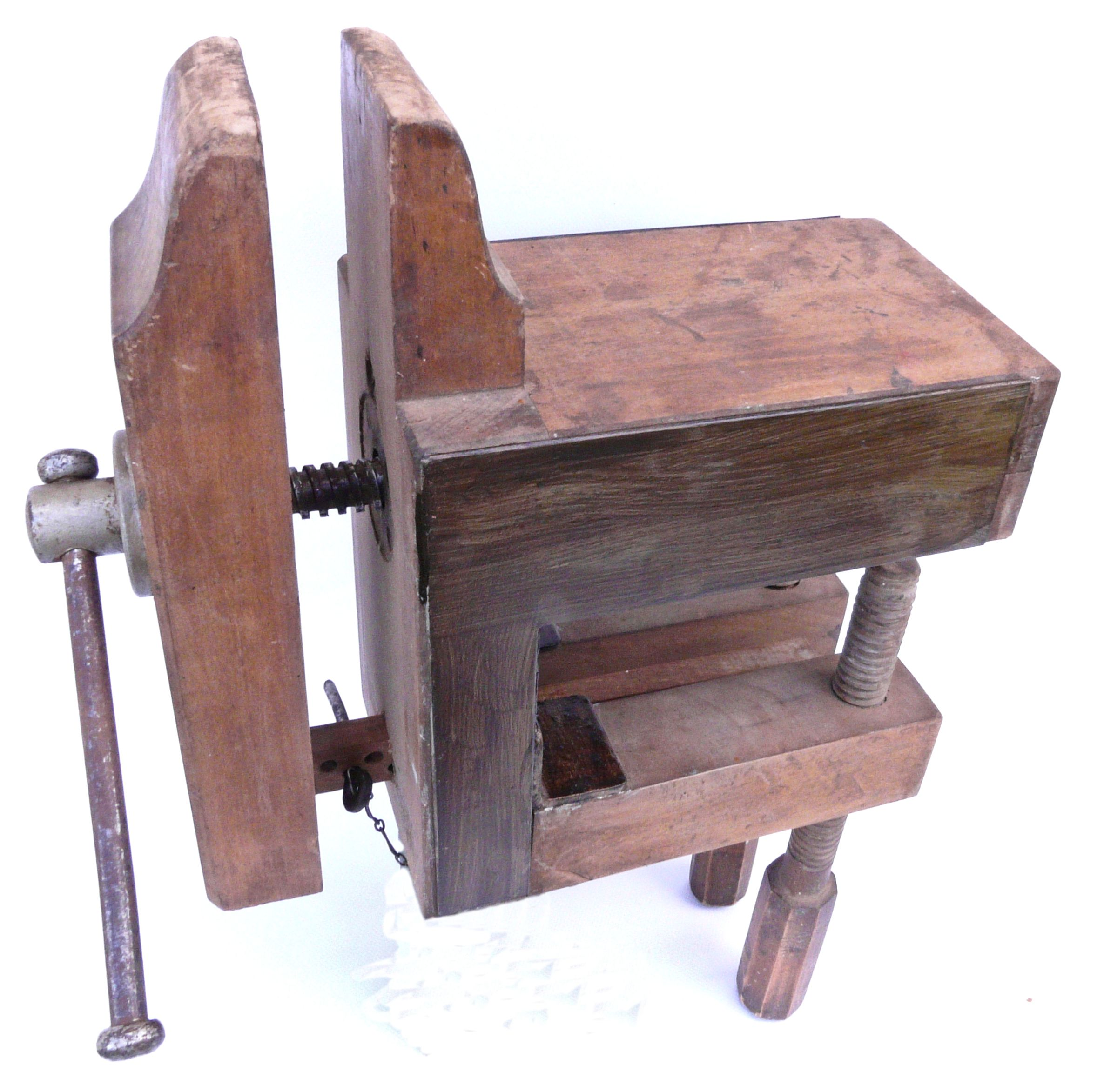 Nice Antique French Carvers Vise Woodworking Pinterest