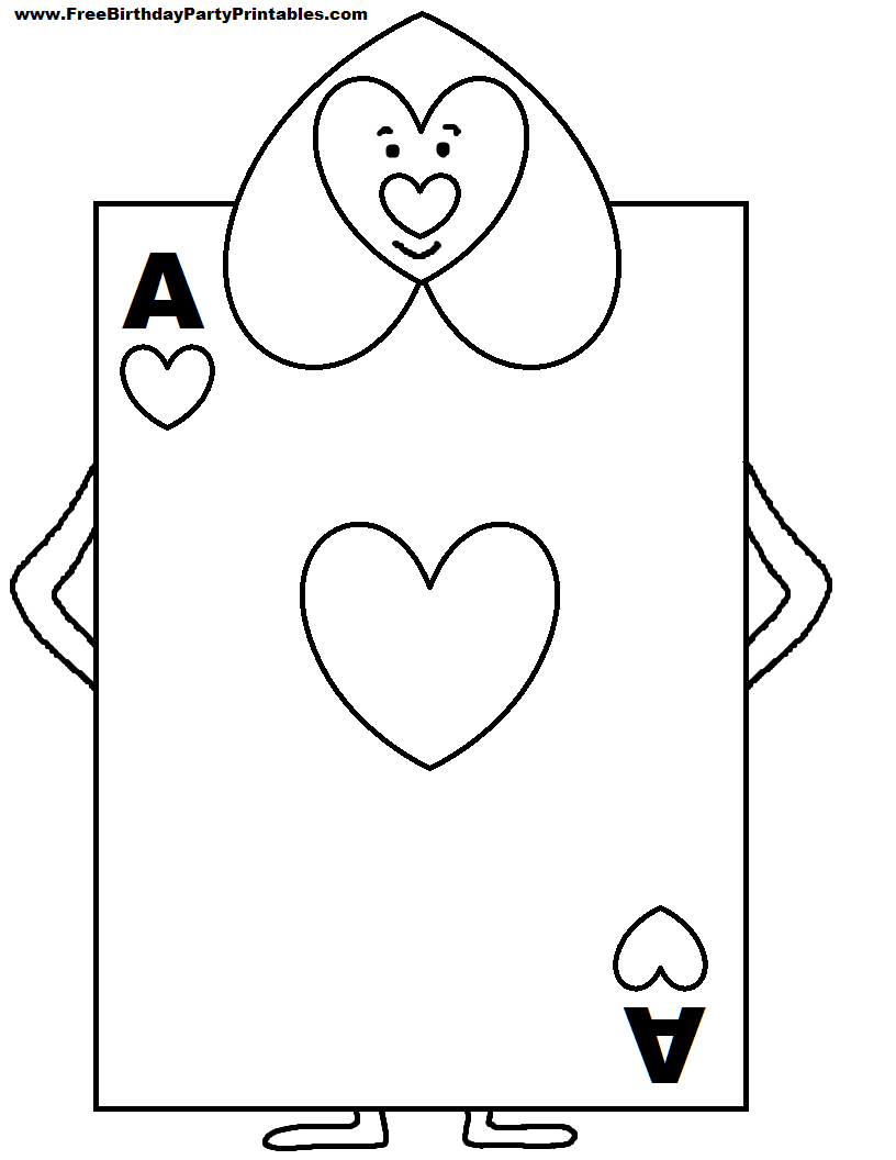 alice in wonderland card soldiers printable cutout you could put