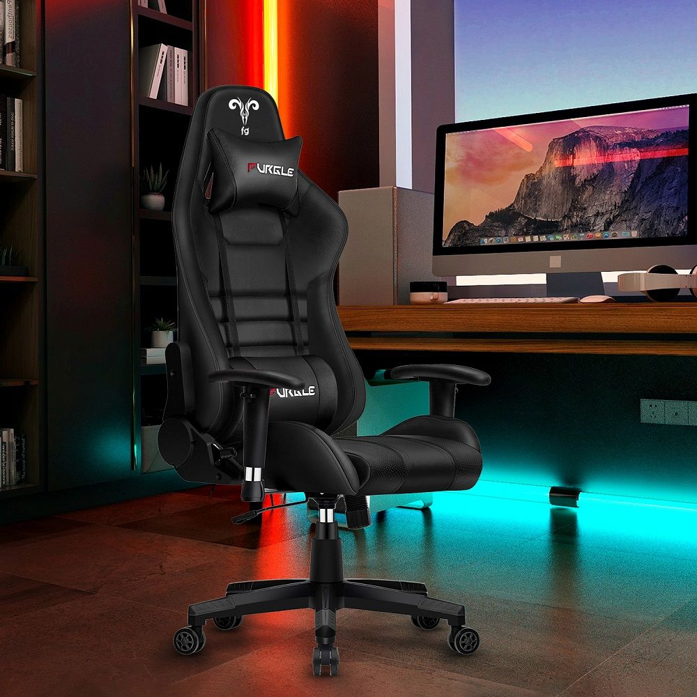 Furgle Office Chair Ergonomic Game Computer Chair with