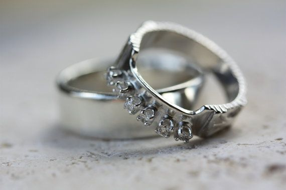 Hozzlebozzle Custom Wedding Rings Handcrafted In Vermont By Caitlin A What Could Be More Special Than