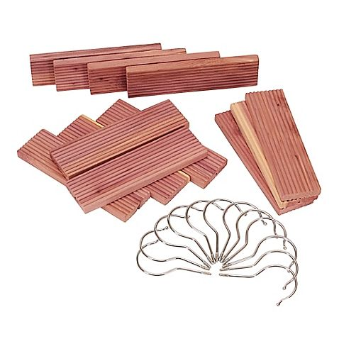 12Pack Milled Cedar Hang Up Set Hung up, Closet rod