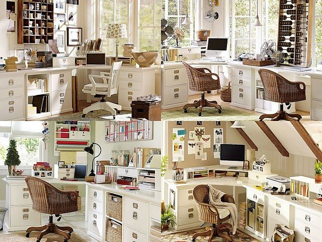 Highly Organized Craft And Home Office Pottery Barn Collection Home Office Craft Space