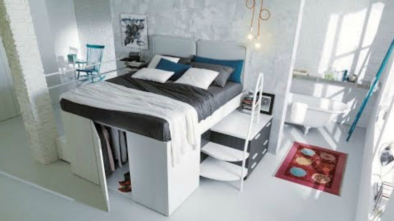 Ingenious Space Saving Ideas You Got To See In 2020 Space Saving Furniture Bedroom Space Saving Bedroom Space Saving