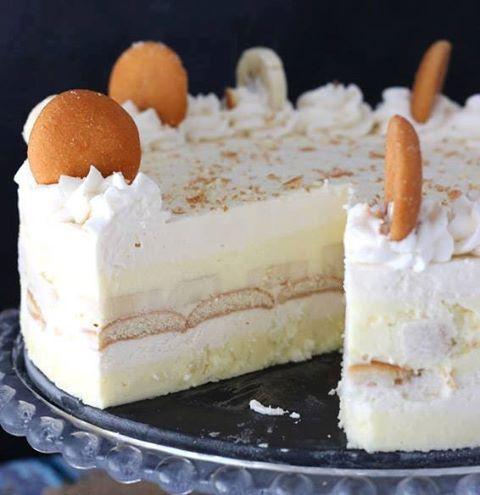 NoBake Banana Pudding Ice Box Cakethese are the BEST Cake