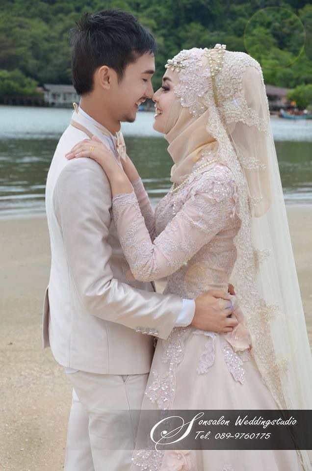 Love Her Dress Veil And Make Up Would Be Perfect If The Hijab Covers