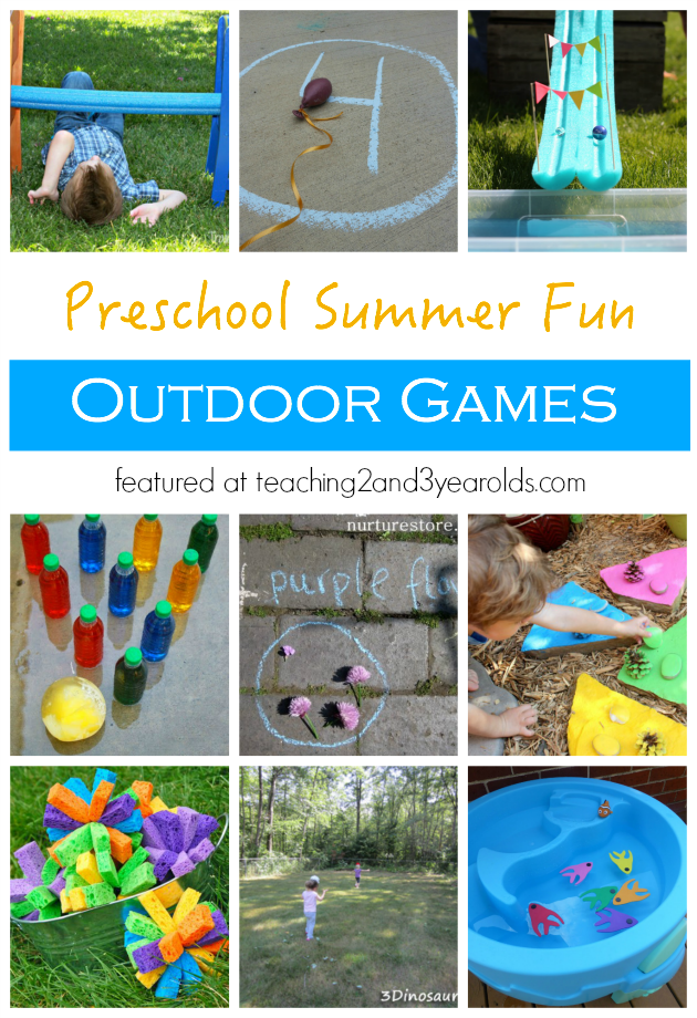 20 Fun Outdoor Games for Preschoolers Fun outdoor games