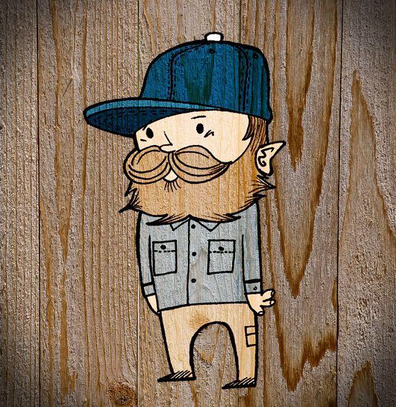 hipster cartoon - Buscar con Google