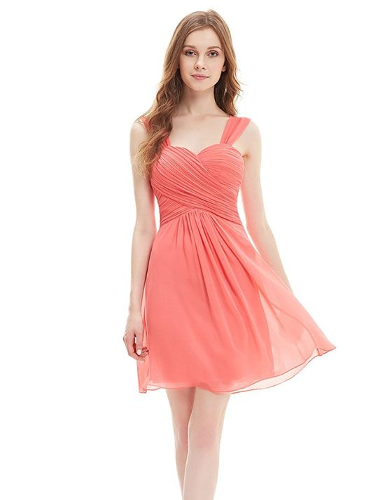 Coral Bridesmaid Dresses Under 100