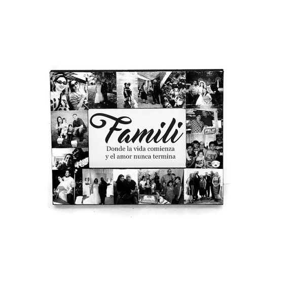 Family Picture Frame Collage - Photo Frame Gifts for Her ...