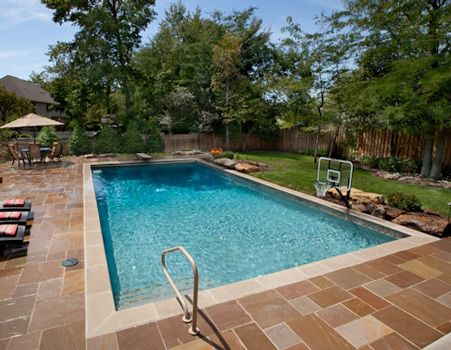 Back Yard Swimming Pool Designs | Swimming Pool Construction Indiana ...