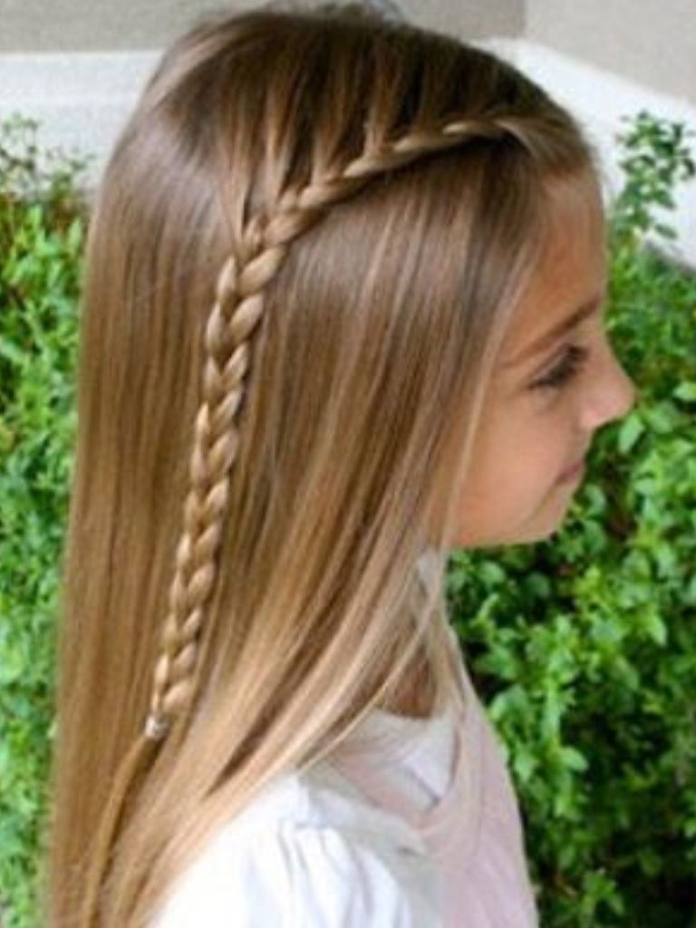 That is a cOoL hairdo   Coiffure fillette facile, Coiffures simples, Coiffure simple et rapide