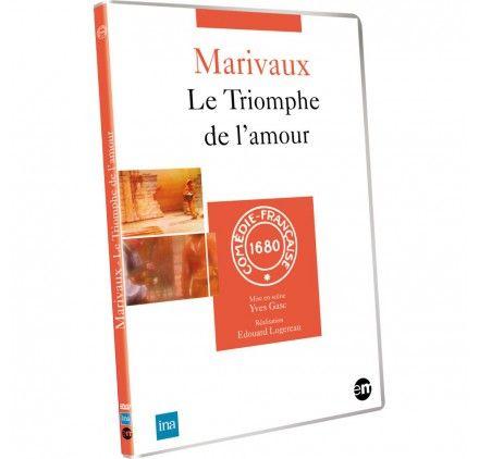 DVD Le Triomphe de l'amour - MARIVAUX